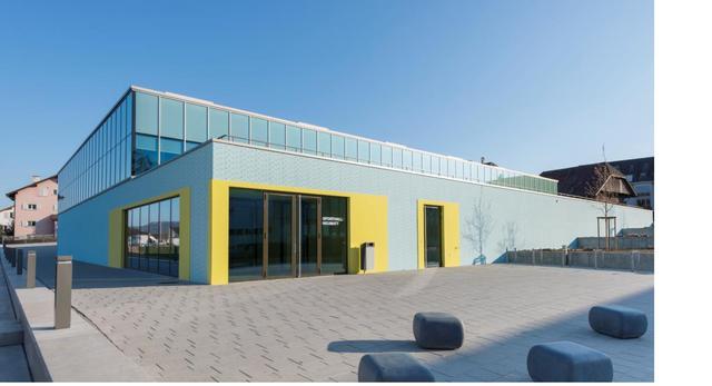 Neumatt Sports Center. Współczesna architektura Szwajcarii